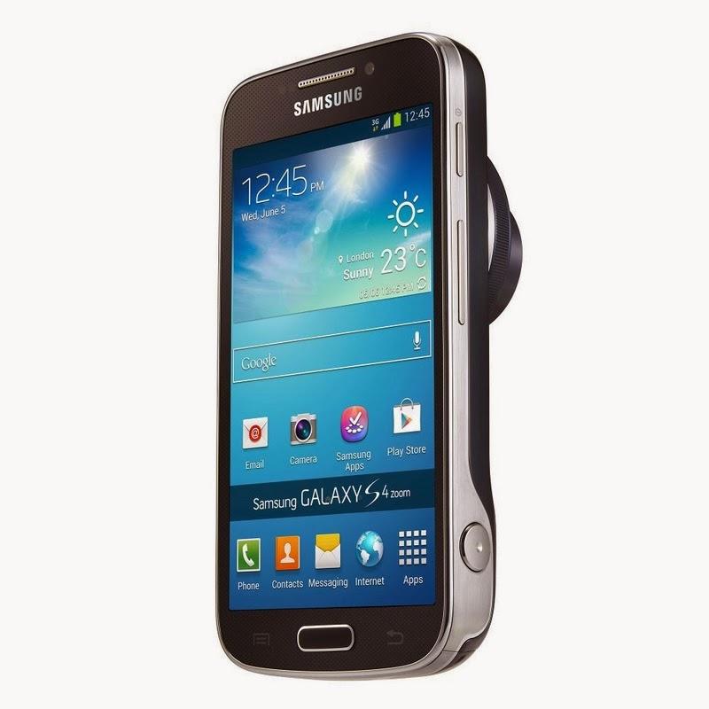 Spesifikasi Dan Harga Samsung Galaxy S4 Zoom Dynamic Black Terbaru