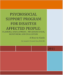 Psychological Support program for disaster affected people