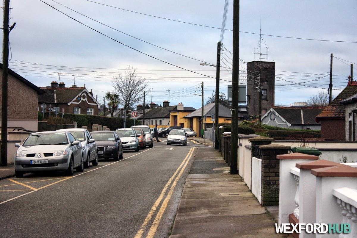 Davitt Road in Wexford Town