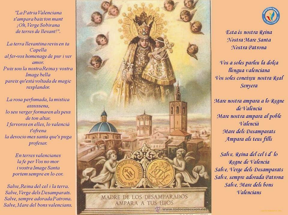 Himne Verge dels Desamparats - Círcul Cívic Valencià
