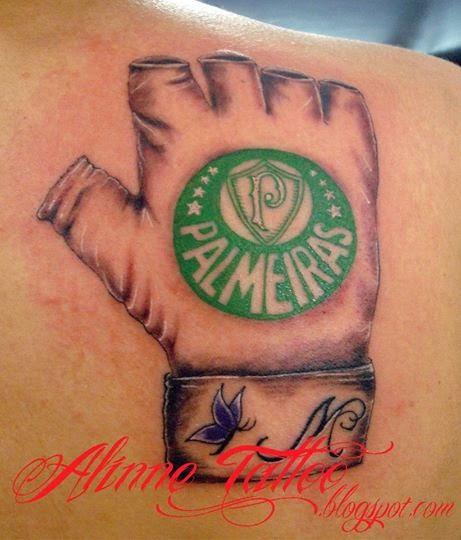 Luva Palmeiras Tatuagem