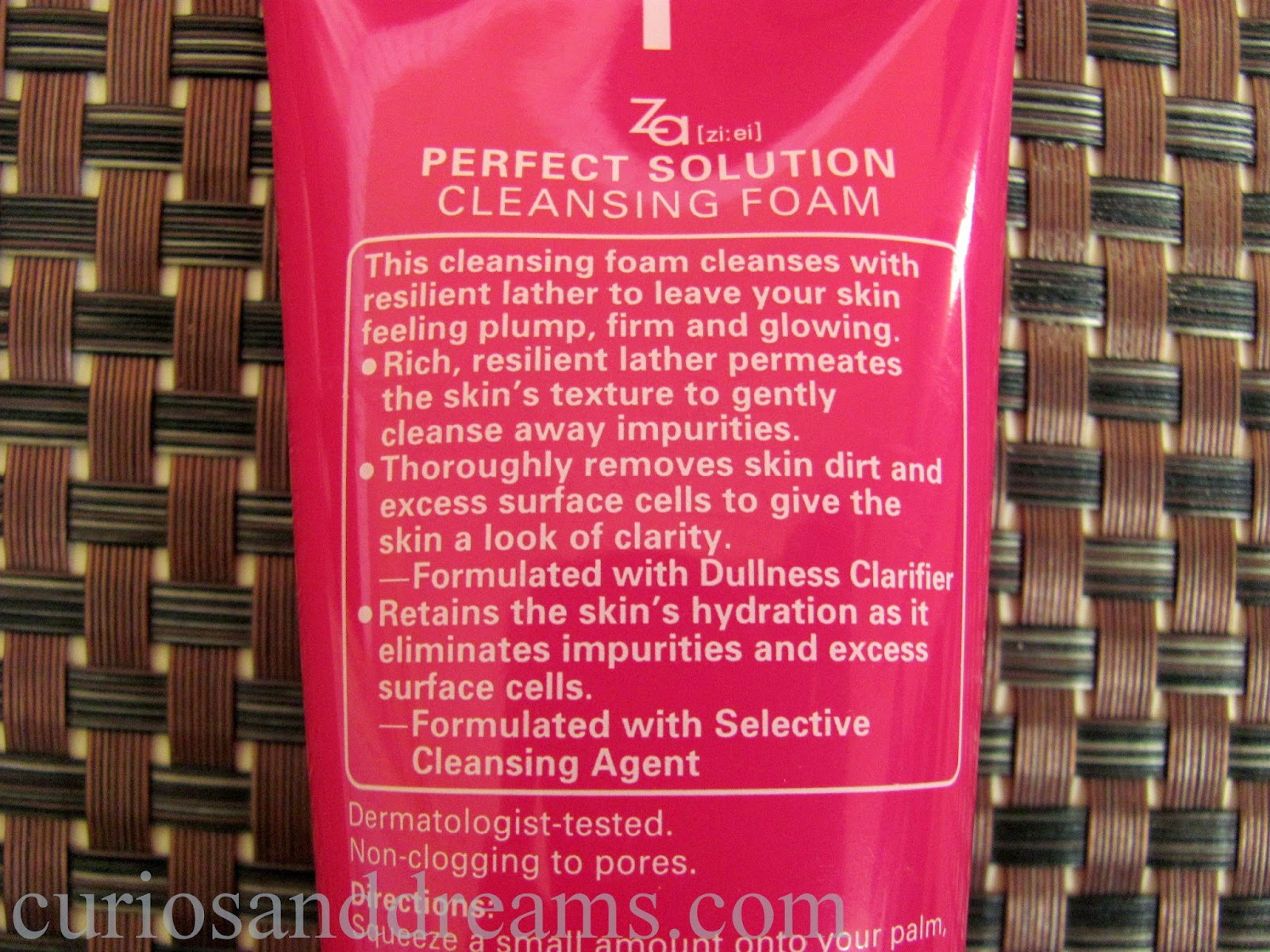 Za Perfect Solution Cleansing Foam