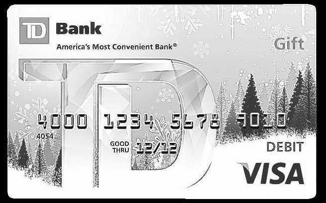 TD Bank Gift Card Balance Check