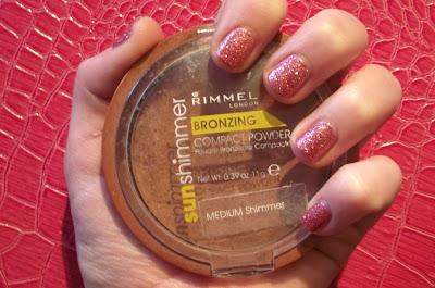 Rimmel Sun Shimmer Bronzing Compact Powder Review - Medium Shimmer