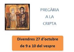 PREGÀRIES A LA CRIPTA