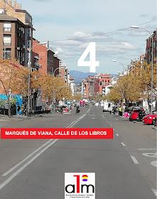 Elecciones 2019 Tetuán: Marqués de Viana, calle de los libros