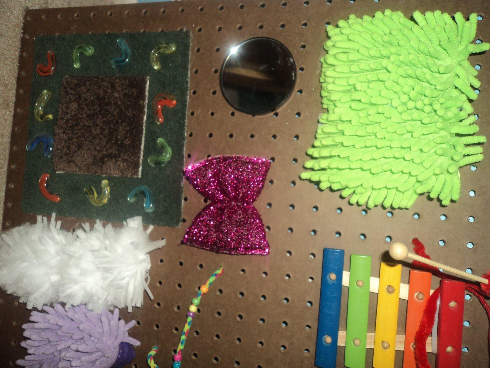 The OT Mama: DIY Sensory Board