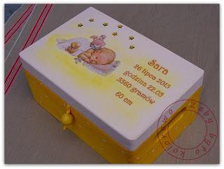 prezent dla noworodka