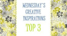 I made Top 3 at Creative Inspirations