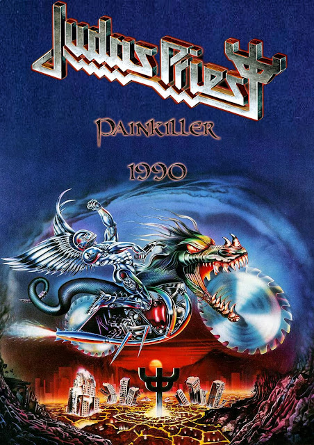 metal wallpaper nash  judas priest painkiller