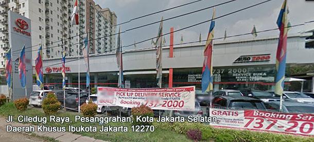 TOYOTA Auto2000 CILEDUG RAYA Pesanggrahan, JAKARTA
