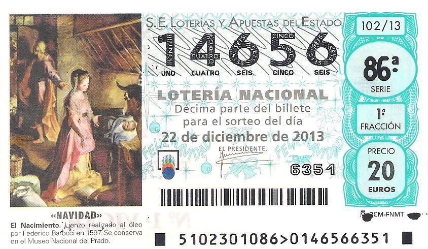 loteria nacional de navidad todos los numeros: