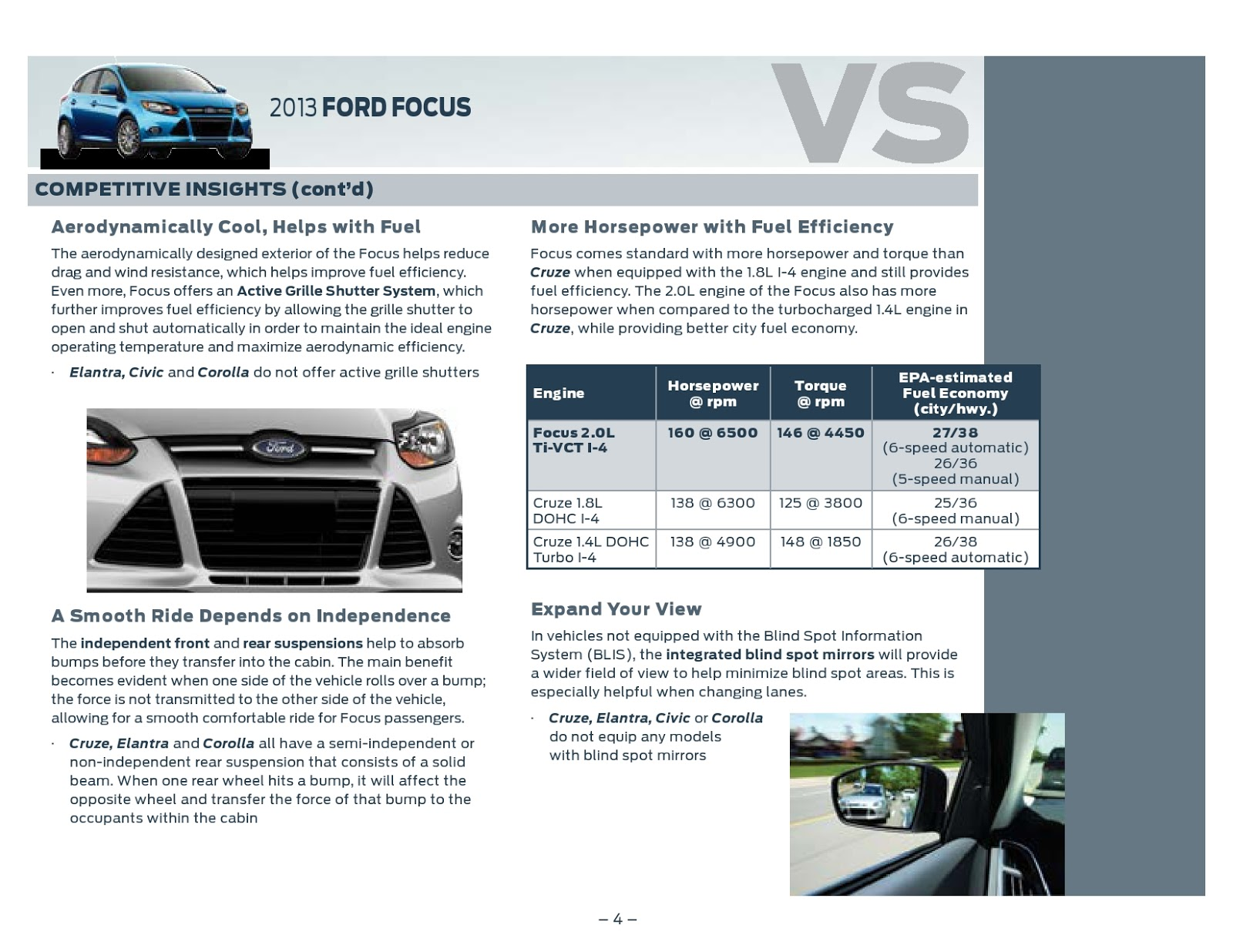 Ed koehn ford lincoln 2013 ford focus vs competition
