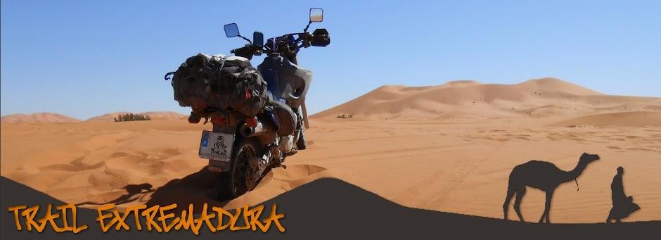 Rutas en moto por Extremadura - Yamaha Xt 600e