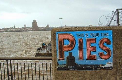 Pies Graffiti Liverpool