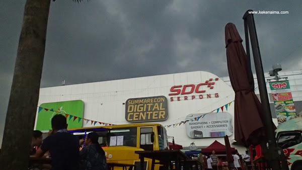food truck festival digitalicious 2015, summarecon digital center, scientia square park