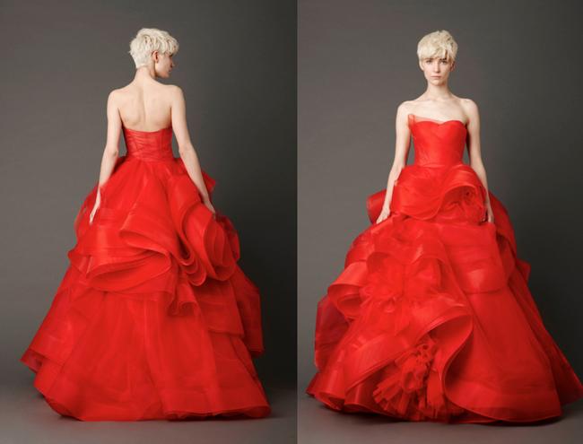 ... de choisir une robe de mariée rouge pour respecter les coutumes de
