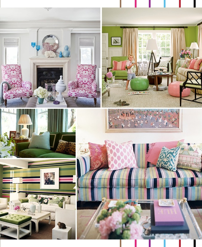 10+ Lilly Pulitzer Inspired Projects {rainonatinroof.com} #lillypulitzer  #craft #