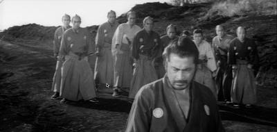 Toshiro Mifune in Akira Kurosawa's Sanjuro