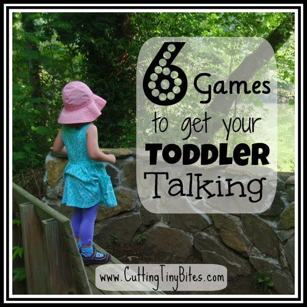 Encourage language development with these six easy 'talking games' that you can play while you're in the car, waiting at the doctor, or over the dinner table!