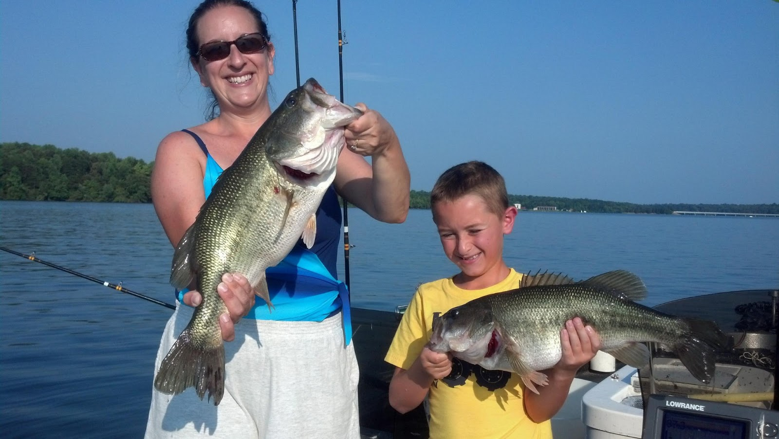 Lake anna striper guide journal toni and anthony for Lake anna fishing