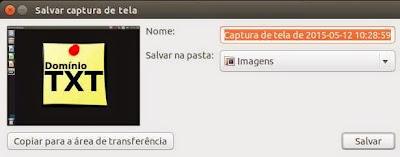 DominioTXT - PrintScreen Linux
