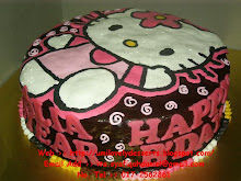 bROw cHOc cHEesE CakE DecO wiTH caRTooN ArtWOrk