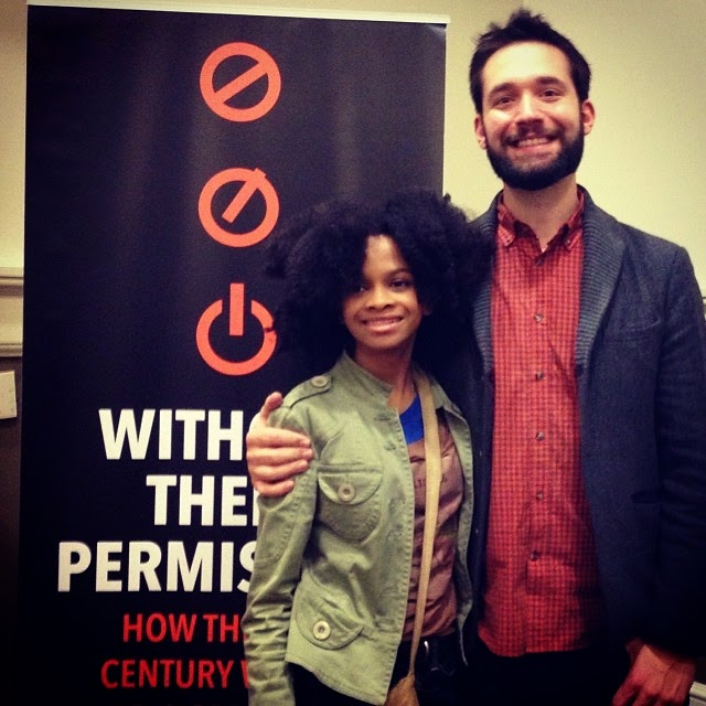 Me and my friend and mentor Alexis Ohanian!