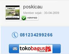 Poskicau Verified Member di Tokobagus sjk 2009