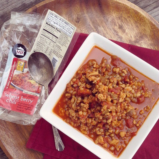 Frontier Soups {product review} Wheat Berry Chili Soup Mix | www.girlichef.com