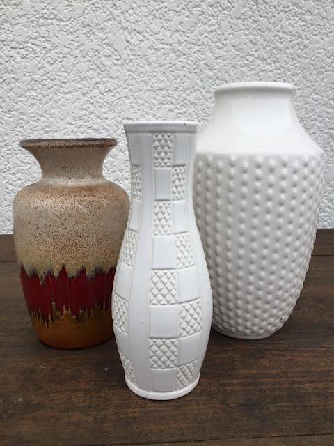 cerâmica alemã, anos 70, west germany