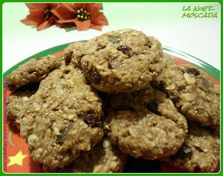 biscotti speziati di muesli (xmas edition) - galletas especiadas de muesli (receta navideña)