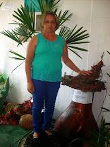Ganhadora do sorteio de uma cascata realizado dia 13/12/2014