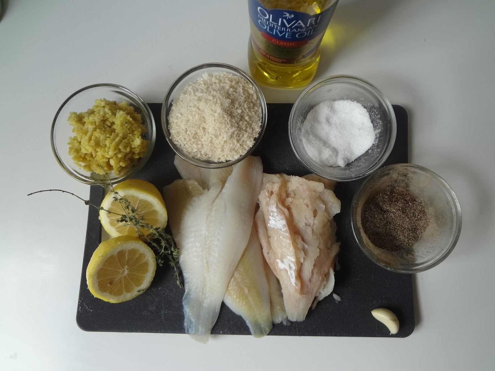 Poupette in the kitchen quick and easy couscous fish cakes for Frying fish in olive oil