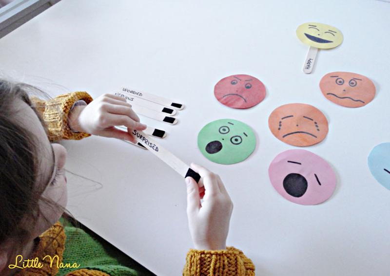 Recurso educativo the moods ingles emociones