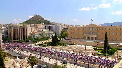 Акции протеста в Греции 2011 год.