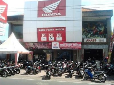 Dealer resmi Honda made ferry motor denpasar bali