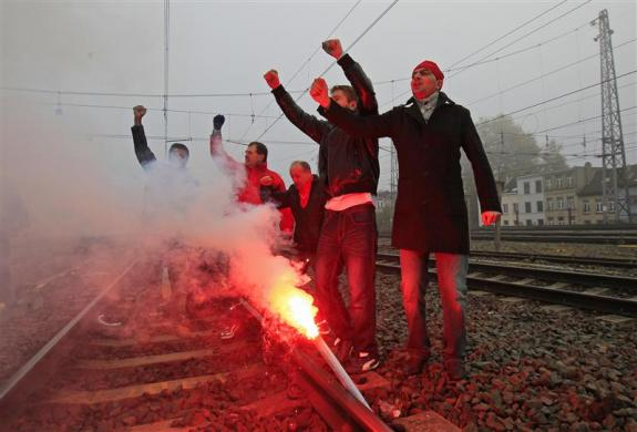 европа протести