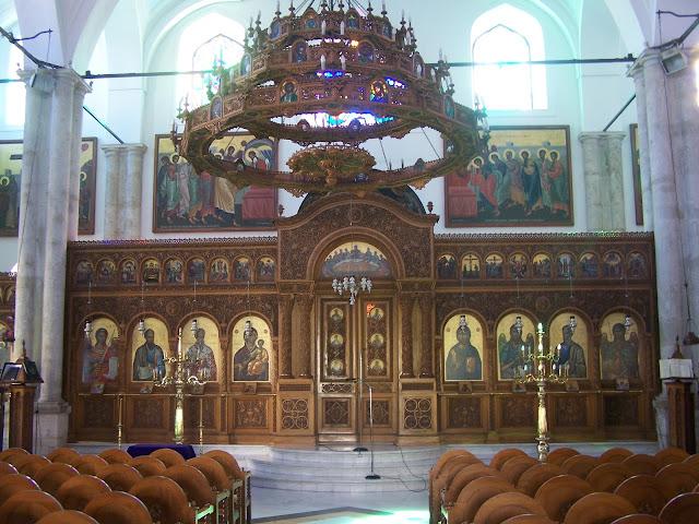 Aziz Titus Kilisesi, İkonostasis; Heraklion
