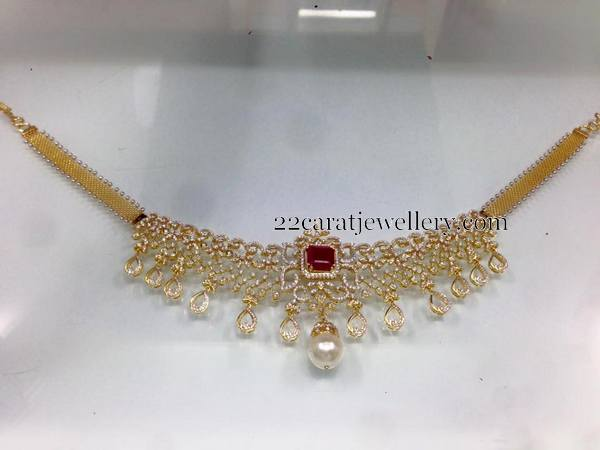 4 to 5 Lakhs Diamond Sets Gallery