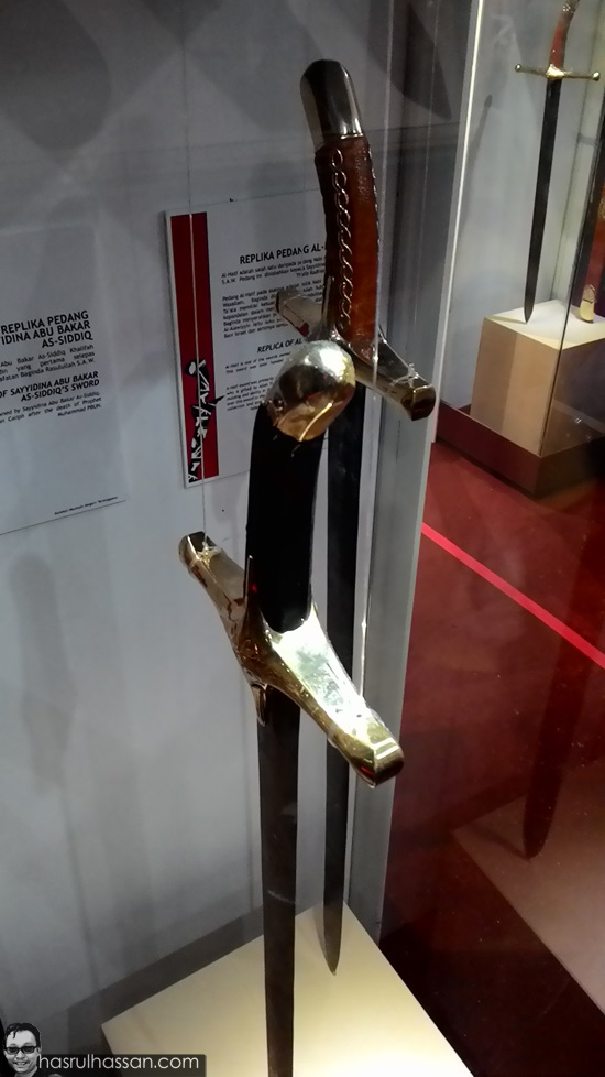 Pedang sahabat Nabi Muhammad S.A.W