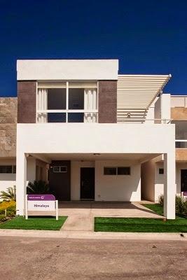 Fachadas de casas modernas fachadas de casas modernas for Fachada de casas modernas con balcon