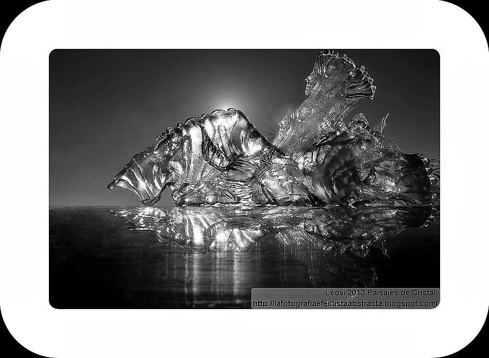 Abstract Photo 2987 Crystal Landscape 136  The Lady or the Tiger?