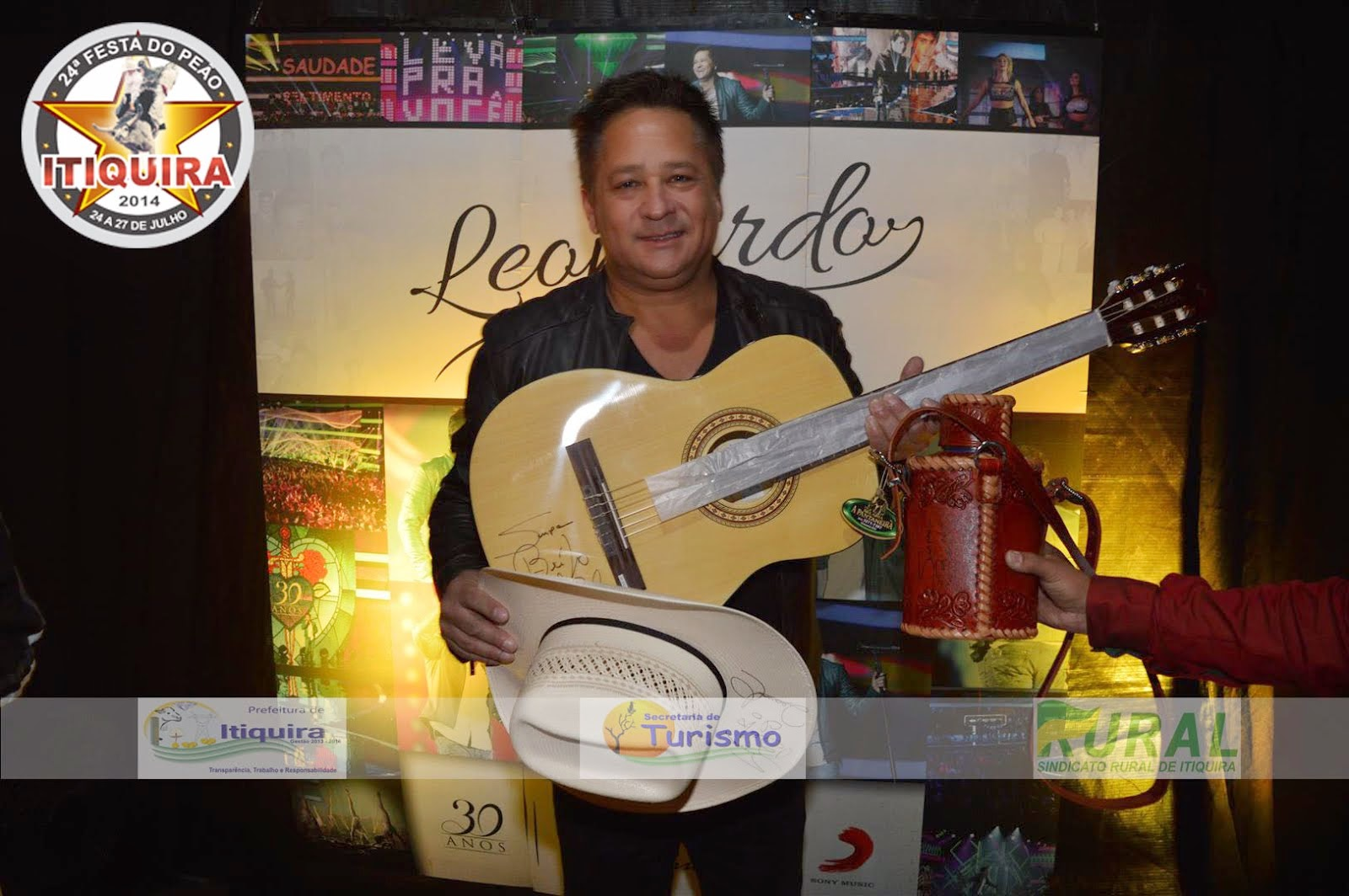 SHOW DO LEONARDO em Itiquira/ MT 26/072014