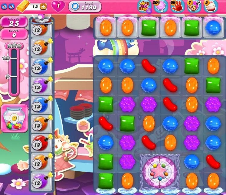 Candy Crush Saga 1190