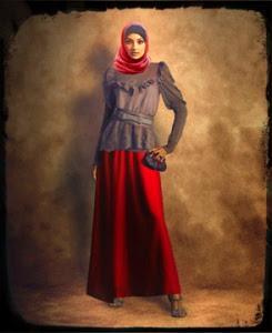 Model Baju Busana Pesta Wanita Muslimah