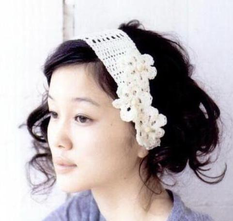 Stylish Easy Crochet Crochet Headbands With Flowers Pattern Free
