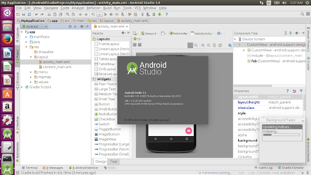 Install Android Studio On Ubuntu 15.10 Using Ubuntu-Developer-Tools-Center