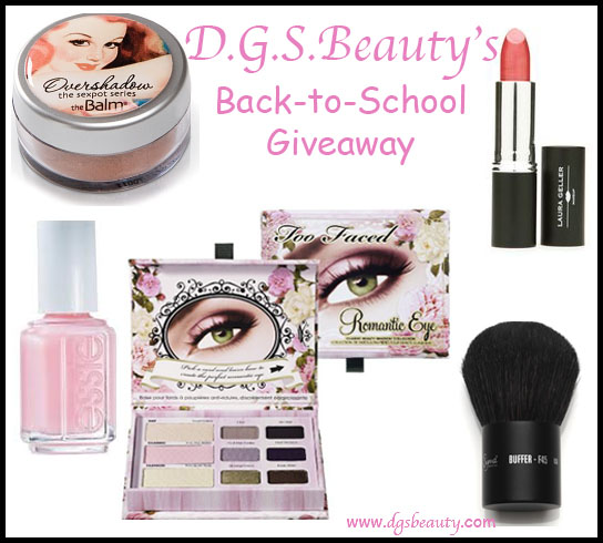 DGS BEAUTY BACKTOSCHOOL GIVEAWAY