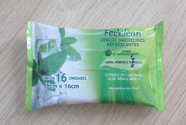 Lenços Umedecidos Refrescantes - FeelClean